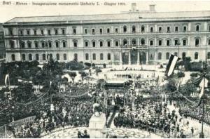 Monumento a Umberto I – inaugurazione