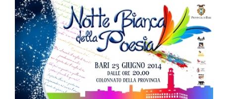 NOTTE BIANCA DELLA POESIA 2014