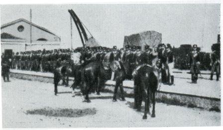 1898 stazione occupata militari