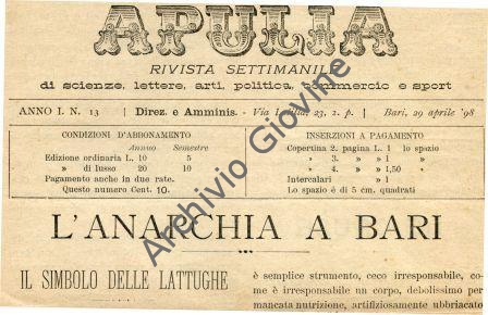 apulia rivolta pane 1898