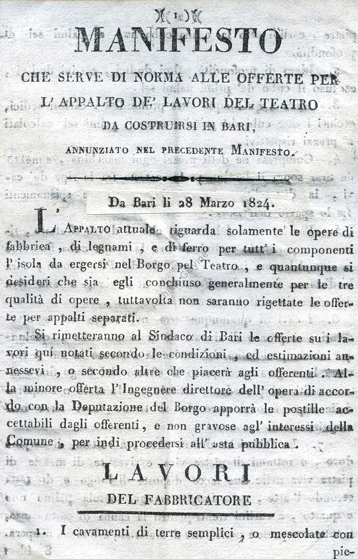 piccinni manifesto